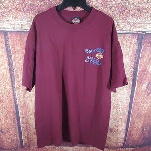 Roatan Honduras Harley Davidson T-Shirt